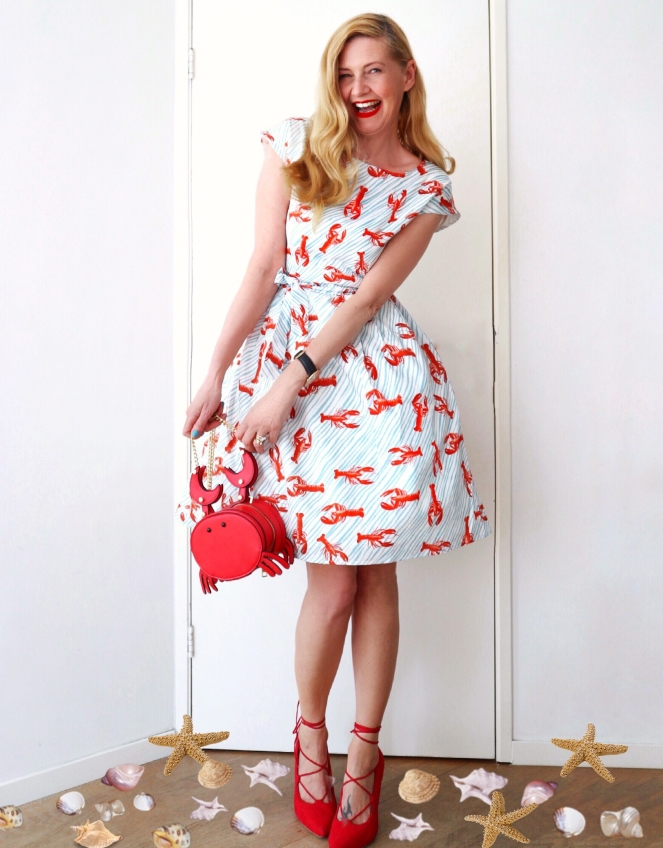 Palava Beatrice Lobster dress