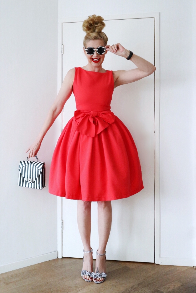 Popisma red dress